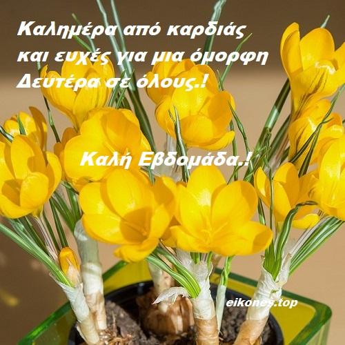Καλημέρα, καλή εβδομάδα, όμορφη Δευτέρα-eikones.top