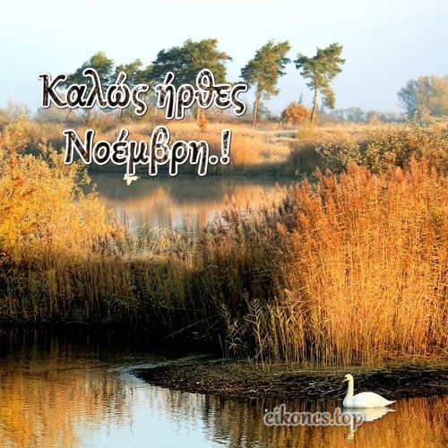 Νοέμβριος: Καλό Μήνα .!eikones.top