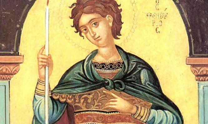 Read more about the article Γιατί ο Άγιος Φανούριος απεικονίζεται κρατώντας ένα κερί
