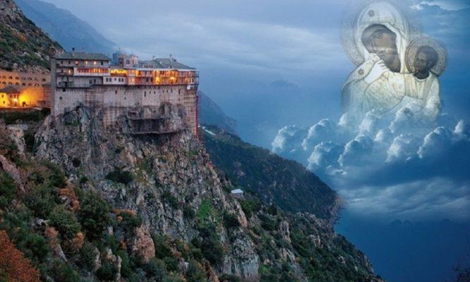 Read more about the article Γιατί το Άγιο Όρος ονομάστηκε Περιβόλι της Παναγίας