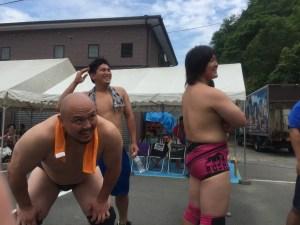 大日本プロレス カレー早食い