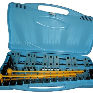 Angel AX25N2 25-tonig glockenspiel met beaters & case