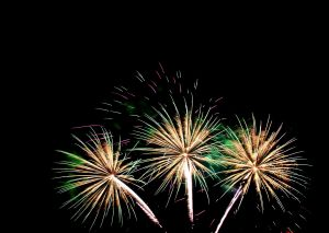 Fireworks: Photo Credit Wikimedia Commons
