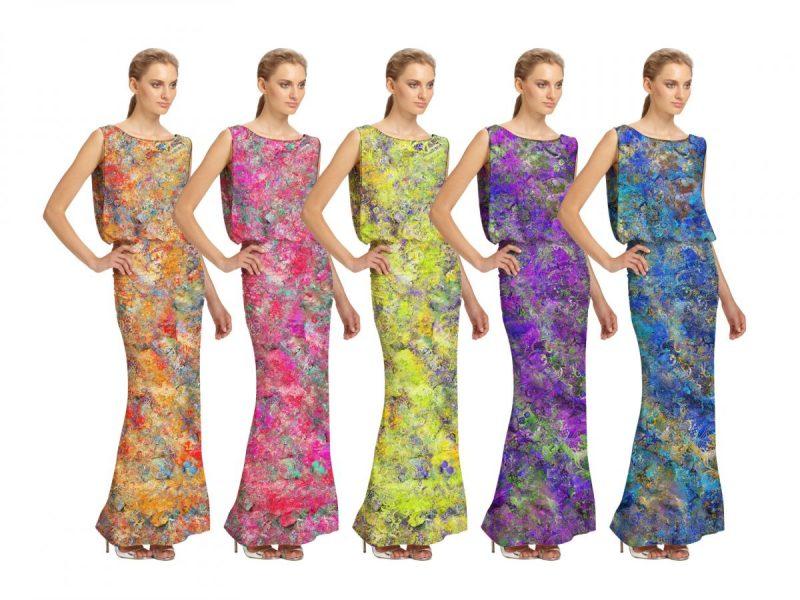 Long Dress color-ways