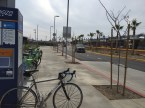 The new light rail light extension is about to open. The bike share is right here along with bike lockers.