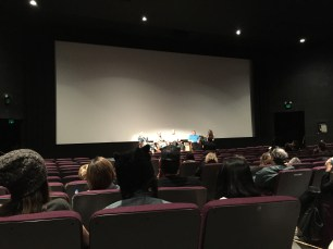 Panel discussion after the documentary.
