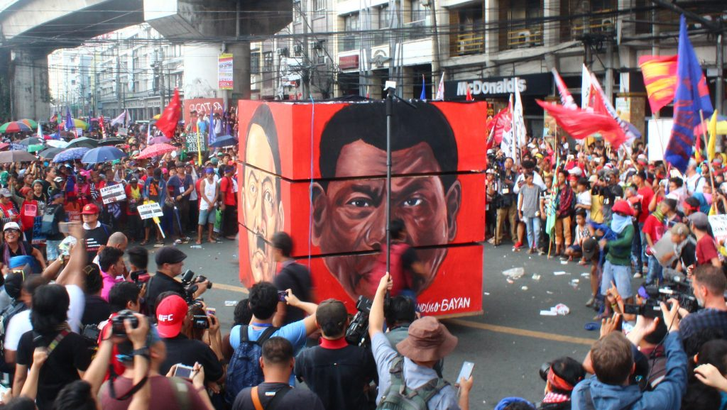 National Day of Protest against Martial Law and Killings under Duterte regime