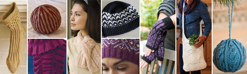 Discover all nine of these patterns for knitting gifts when you download this free eBook.