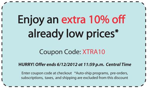 Save an EXTRA 10%