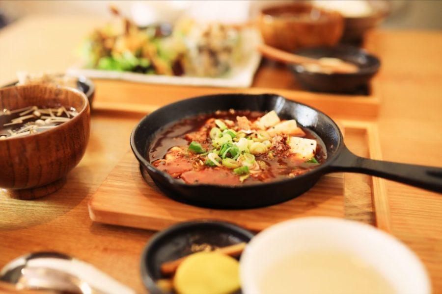 四万十市の「まぁ坊豆腐店」でヘルシーなランチを。