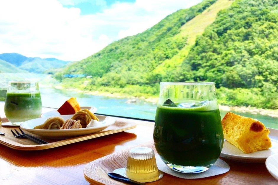 四万十の風景を食べる。おちゃくりカフェ(ocha kuri cafe)