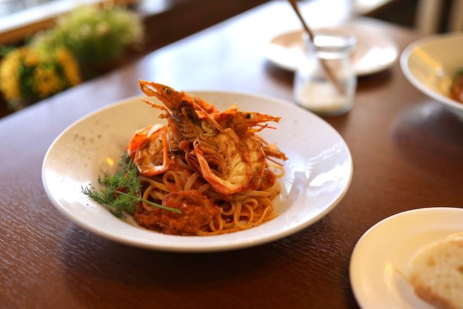 三日月キッチン 心地よい空間で、本格的な生パスタを堪能できるレストラン