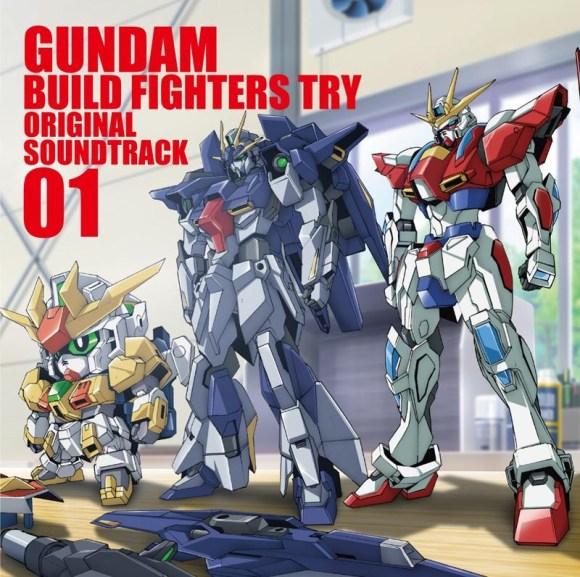 Gundam Build Fighters Try Original Soundtrack 01