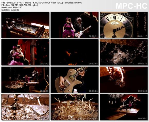 Download angela - KINGS [720p]   [PV]