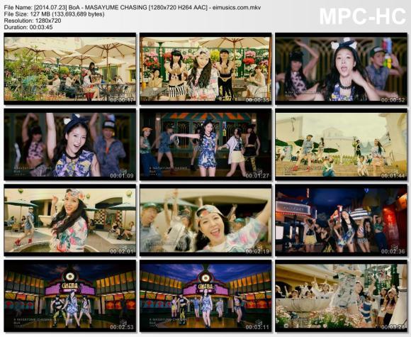 Download BoA - MASAYUME CHASING [720p]   [PV]