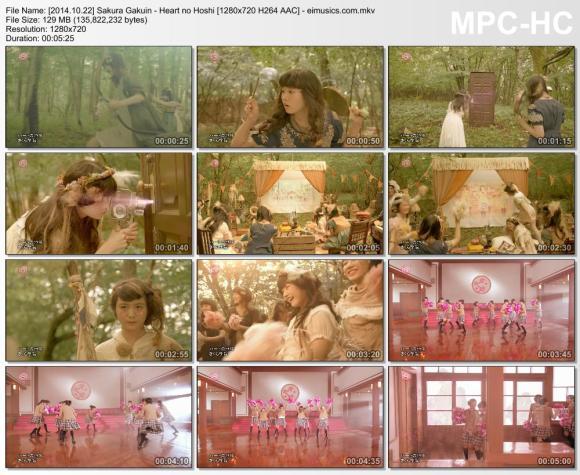 Download Sakura Gakuin - Heart no Hoshi [720p]   [PV]
