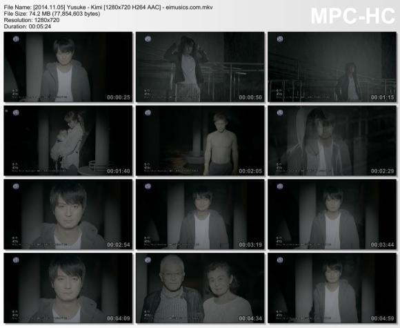 Download Yusuke - Kimi [720p]   [PV]