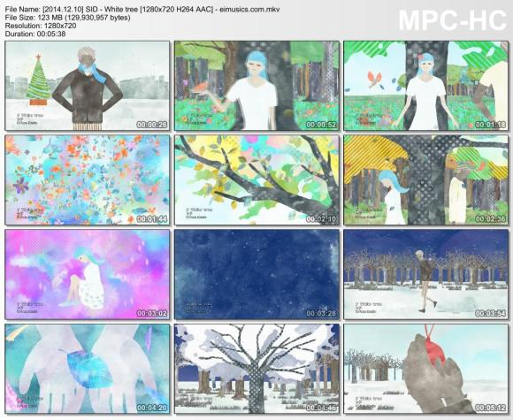 Download SID - White tree [720p]   [PV]