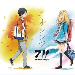 """[Single] 7!! (Seven Oops) – Orange [MP3/320K/ZIP][2015.02.11] ~ """"Shigatsu wa Kimi no Uso"""" 2nd Ending Theme"""