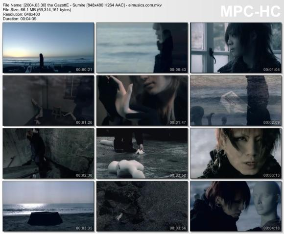 Download the GazettE - Sumire [480p]   [PV]
