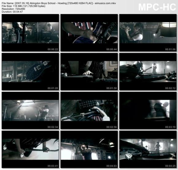 Download Abingdon Boys School - Howling [480p]   [PV]