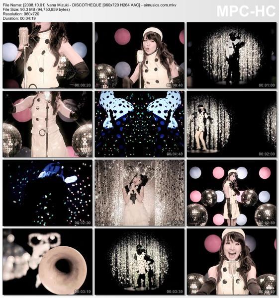Download Nana Mizuki - DISCOTHEQUE [720p]   [PV]
