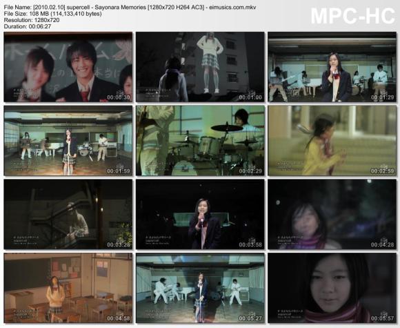 Download supercell - Sayonara Memories [720p]  [PV]
