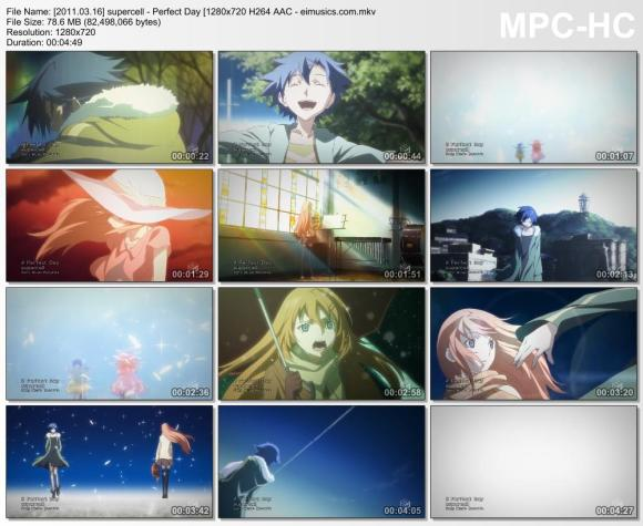 Download supercell - Perfect Day [720p]   [PV]