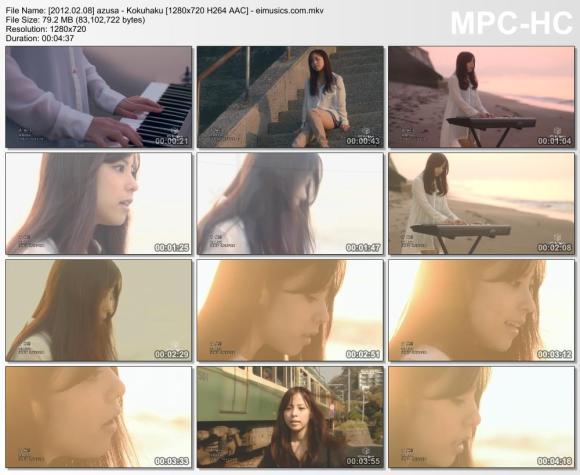 Download azusa - Kokuhaku [720p]   [PV]