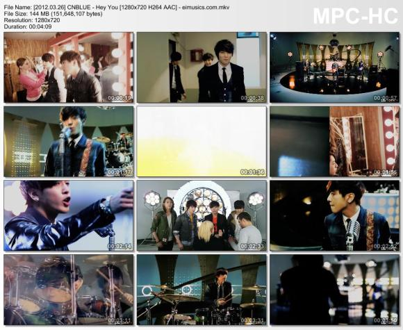 Download CNBLUE - Hey You [720p]   [PV]