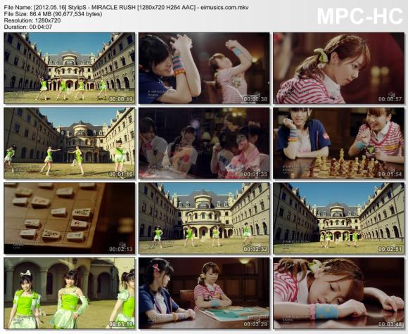 Download StylipS - MIRACLE RUSH [720p]   [PV]