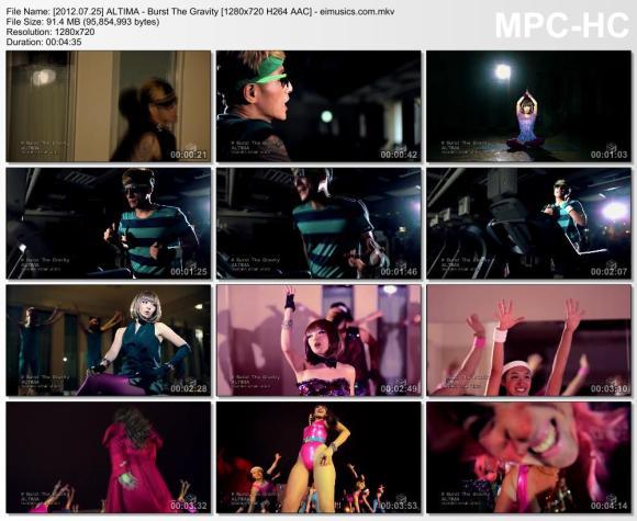 Download ALTIMA - Burst The Gravity [720p]   [PV]