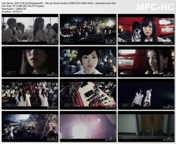 Download Nogizaka46 - Oto ga Denai Guitar [720p]   [PV]