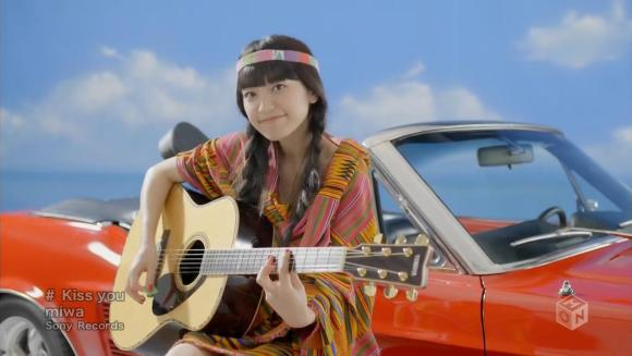 Download miwa - Kiss you [720p]   [PV]