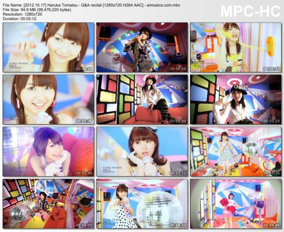Download Haruka Tomatsu - Q&A recital [720p]   [PV]