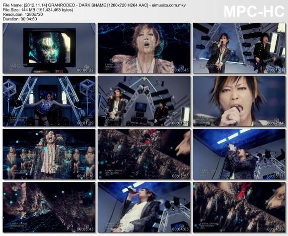 Download GRANRODEO - DARK SHAME [720p] [PV]