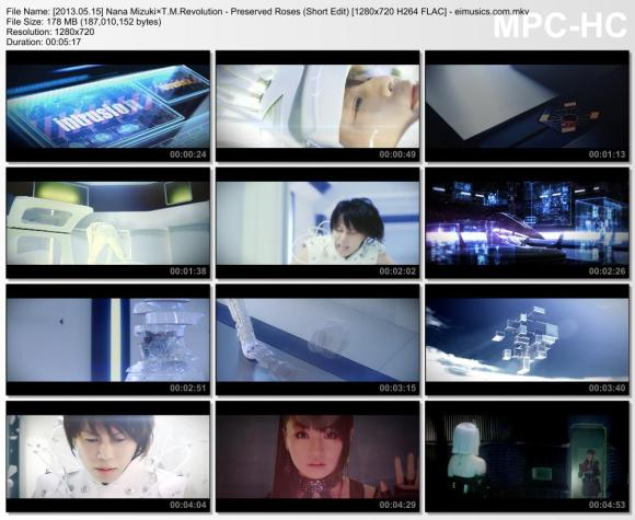 Download Nana Mizuki×T.M.Revolution - Preserved Roses (Short Edit) [720p]   [PV]