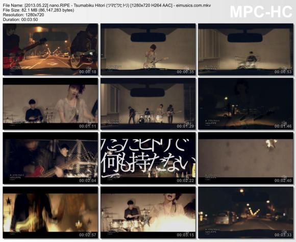Download nano.RIPE - Tsumabiku Hitori (ツマビクヒトリ) [720p]   [PV]