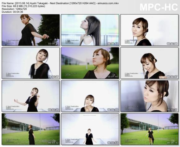 Download Ayahi Takagaki - Next Destination [720p]   [PV]