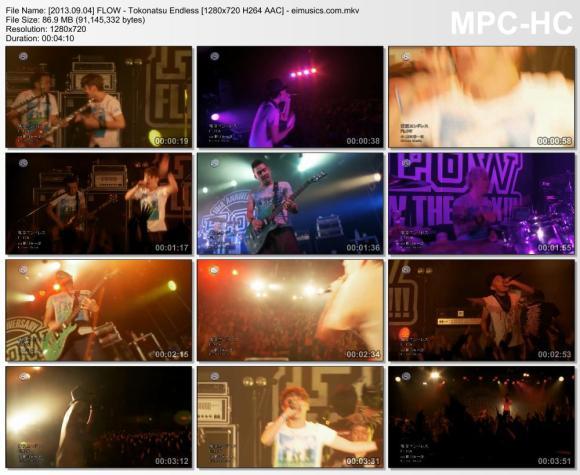 Download FLOW - Tokonatsu Endless [720p]   [PV]