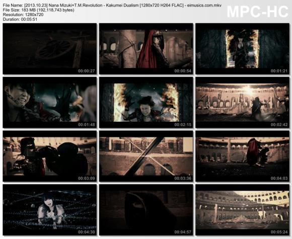 Download Nana Mizuki×T.M.Revolution - Kakumei Dualism [720p]   [PV]