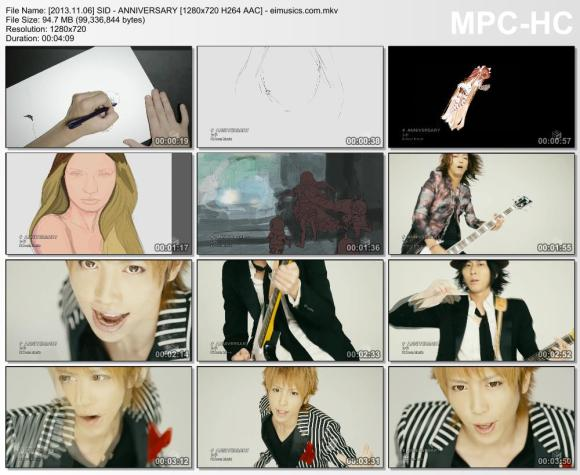 Download SID - ANNIVERSARY [720p]   [PV]
