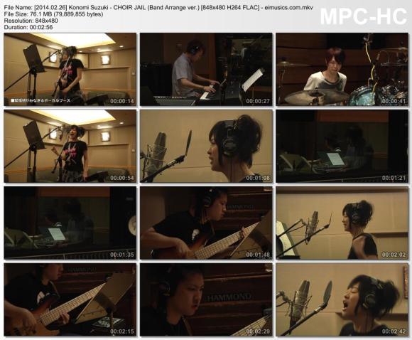 Download Konomi Suzuki - CHOIR JAIL (Band Arrange ver.) [480p]   [PV]