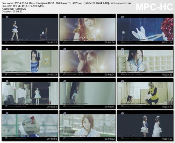 Download Ray - Yawajanai DID!! ~Catch me! To LOVE-ru~ [720p]   [PV]