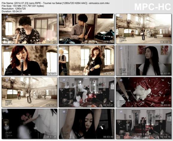 Download nano.RIPE - Toumei na Sekai [720p]   [PV]