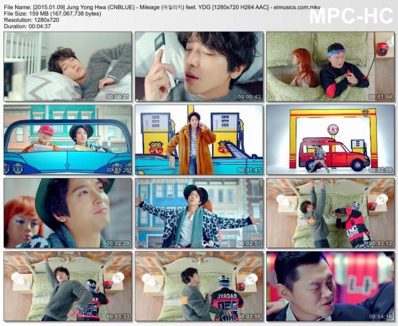 Download Jung Yong Hwa (CNBLUE) - Mileage (마일리지) feet. YDG [720p]   [MV]