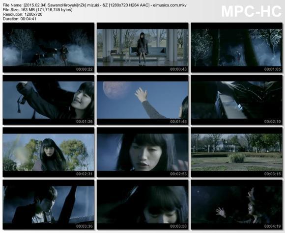 Download SawanoHiroyuki[nZk]:mizuki - &Z [720p]   [PV]