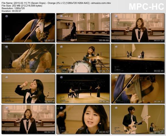 Download 7!! (Seven Oops) - Orange (オレンジ) [720p]   [PV]