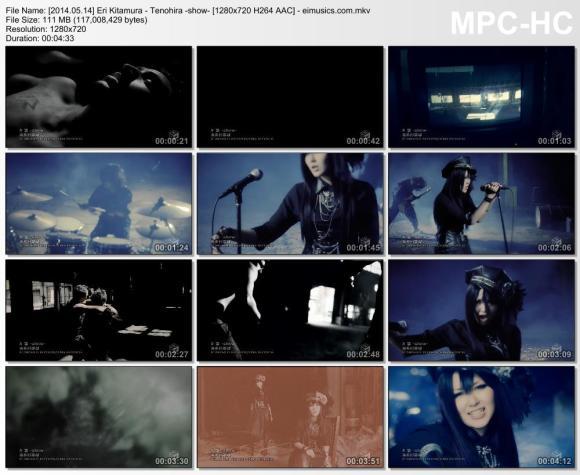 Download Eri Kitamura - Tenohira -show- [720p]   [PV]