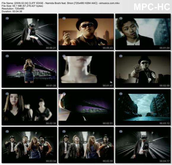 Download CLIFF EDGE - Namida Boshi feat. Shion [480p]   [PV]